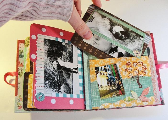 Ideas para hacer un album de fotos imagui - Como hacer un album scrapbook ...
