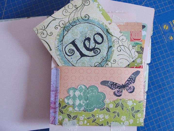 Mi primer mini album de estilo shabby chic muy vintage for Paginas para decorar casas