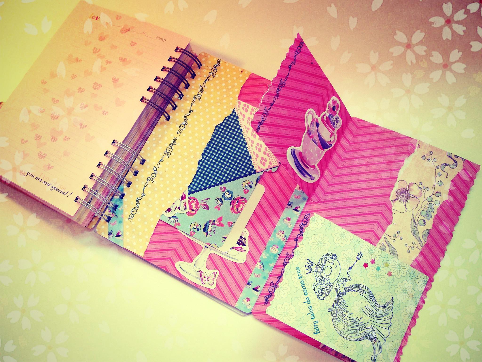 Ideas creativas para decorar cuadernos for Ideas creativas para decorar