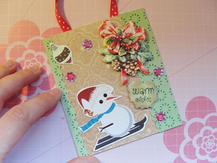 Sobre superficies de corte mega fashion pinky tags - Postales navidenas creativas ...