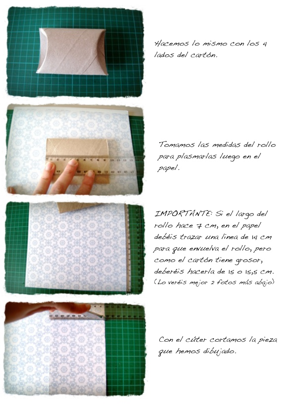tutorial caja hecha con rollo de cartón