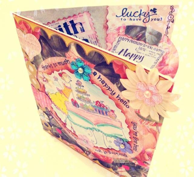 Tarjeta Cumpleaños hecha a mano - 2