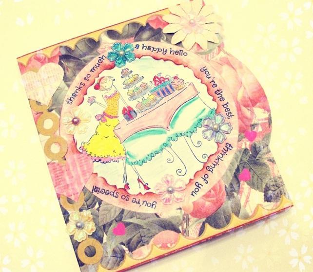 Tarjeta Cumpleaños hecha a mano - 3