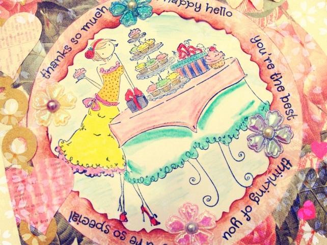Tarjeta Cumpleaños hecha a mano - 4