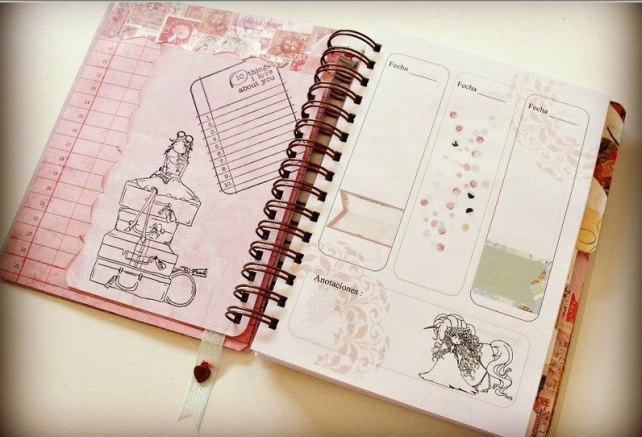 Agenda Cinderella Unicorn Dreams 2
