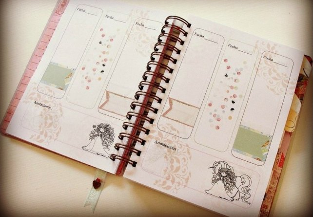 Agenda Cinderella Unicorn Dreams 3-7