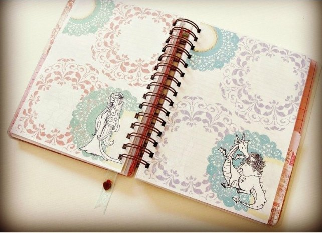 Agenda Cinderella Unicorn Dreams 5-7