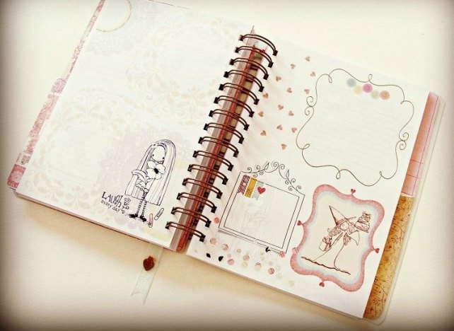 Agenda Cinderella Unicorn Dreams 7-7
