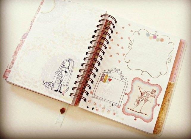 Agenda Cinderella Unicorn Dreams 7-7