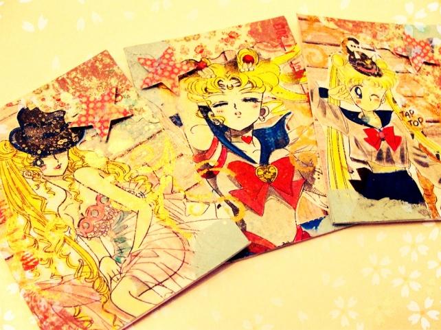 ATC's Cinderella - Técnicas 1 _Sailor Moon-3