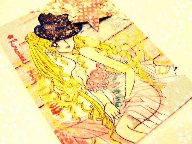 ATC's Cinderella - Técnicas 1 _Sailor Moon-4