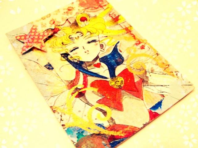 ATC's Cinderella - Técnicas 1 _Sailor Moon-5