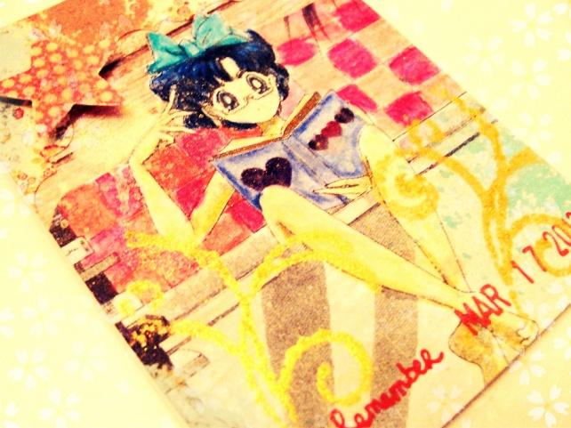ATC's Cinderella - Técnicas 1 _Sailor Moon-7