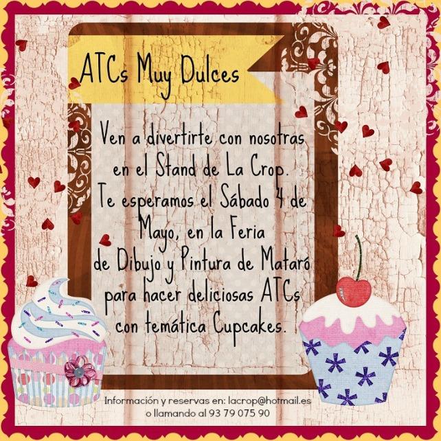 ATCs Dulces - Cupcakes