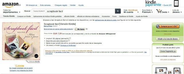 scrapbook facil en AMAZON
