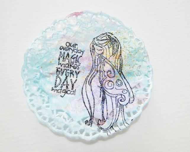 Tutorial Decoración Blondas Cinderella 15