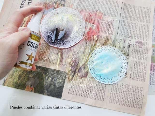 Tutorial Decoración Blondas Cinderella 4