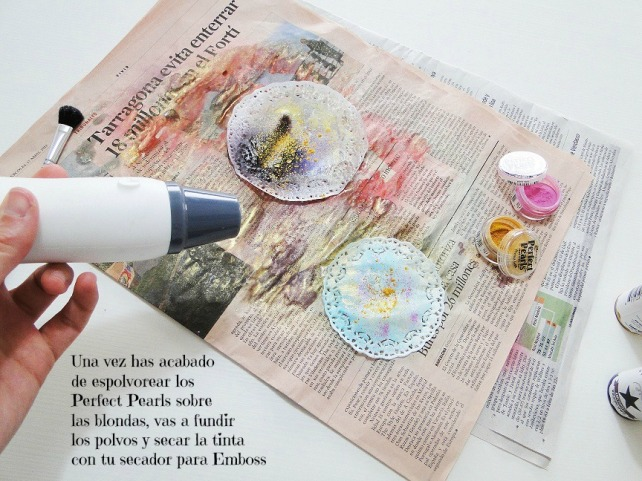Tutorial Decoración Blondas Cinderella 7