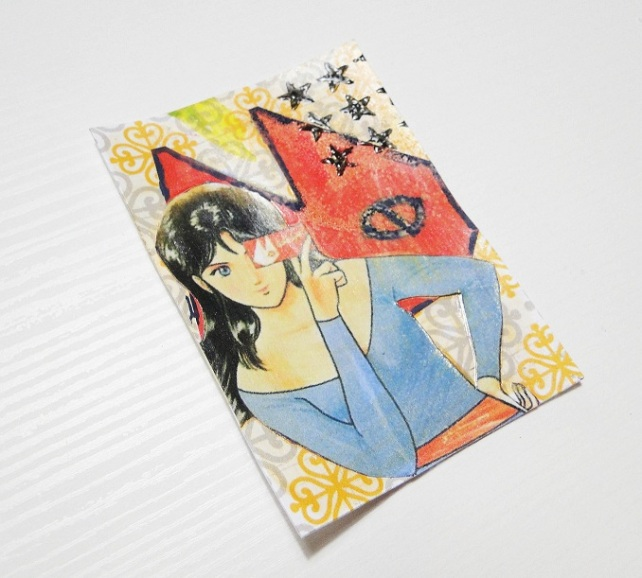 ATCs made by Cinderella-Cats Eye 2