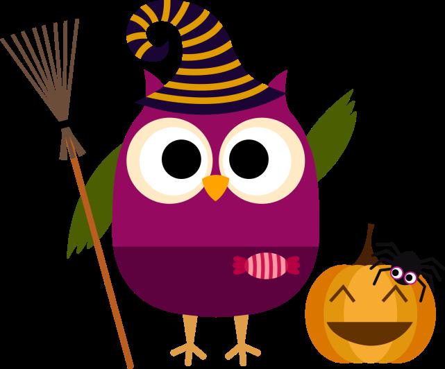 Búho halloween