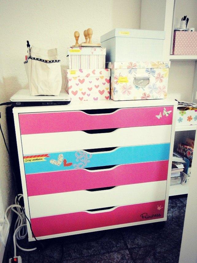 CinderellaScrapRoom 2-Cajones para papel