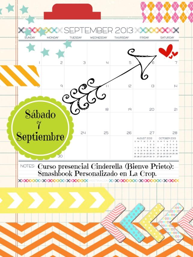 Curso La Crop Smashbook - Calendario