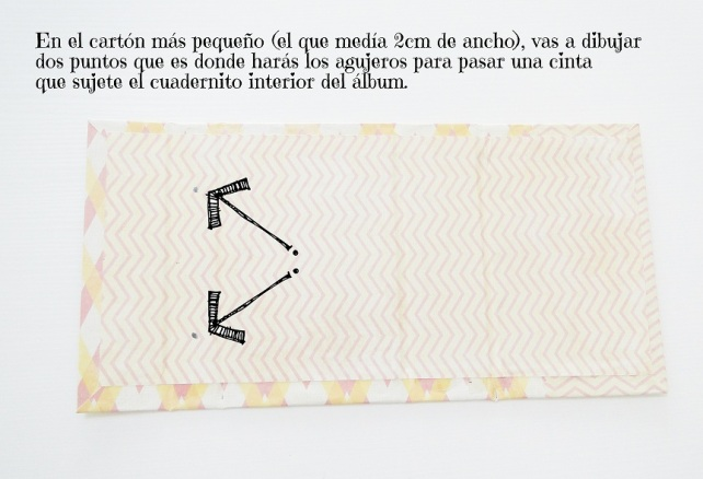 Tutorial Bolsito con álbum interior 10