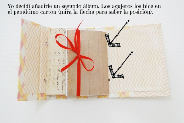 Tutorial Bolsito con álbum interior 19