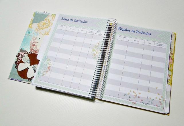 Agenda Boda - Erase una vez un beso - Cinderella Wedding planner 9