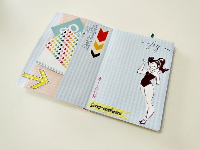 Agenda-Diario de Viaje Cinderella 30