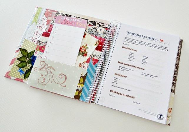 Agenda para Novias Wedding Planner Cinderella 10