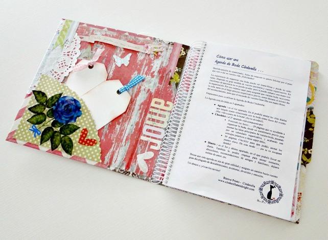 Agenda para Novias Wedding Planner Cinderella 4