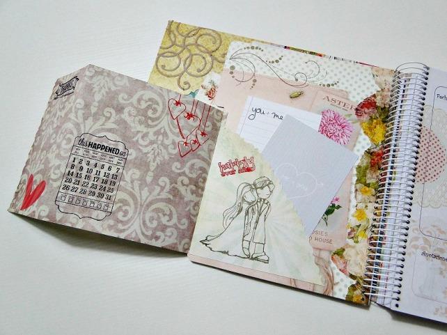 Agenda romántica para boda Wedding Planner 7