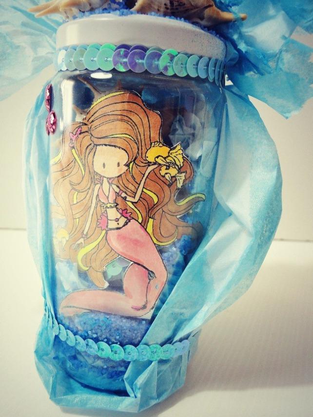 Botella Mágica Sirena Cinderella 3
