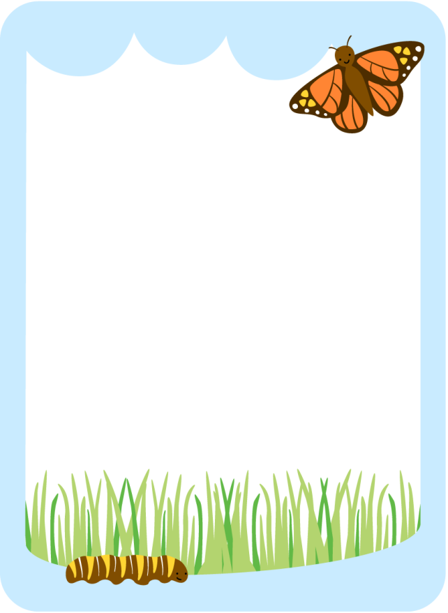 Journaling Card mariposa