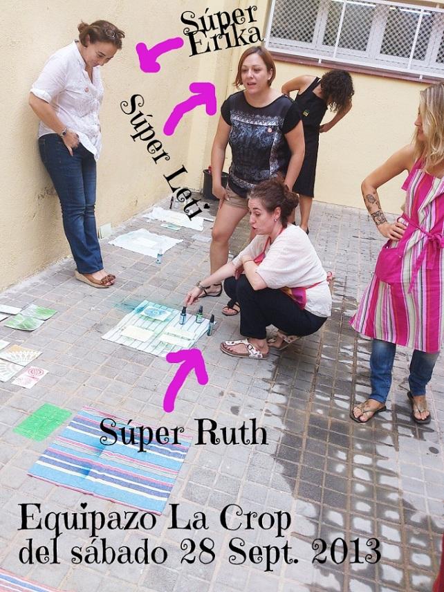 Mañana en La Crop-Clase Ruth de Guarreo 15
