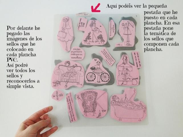 Sistema de clasificación sellos Cinderella 4