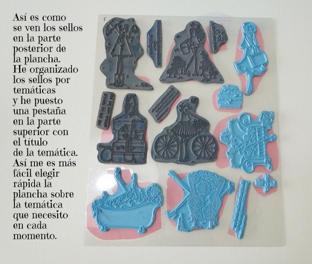 Sistema de clasificación sellos Cinderella 5