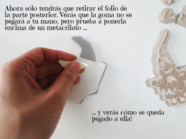 Tutorial Cinderella cómo montar sellos de goma 10
