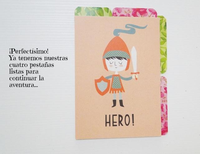 Tutorial Cuaderno personalizado Bienve Prieto Cinderella 14