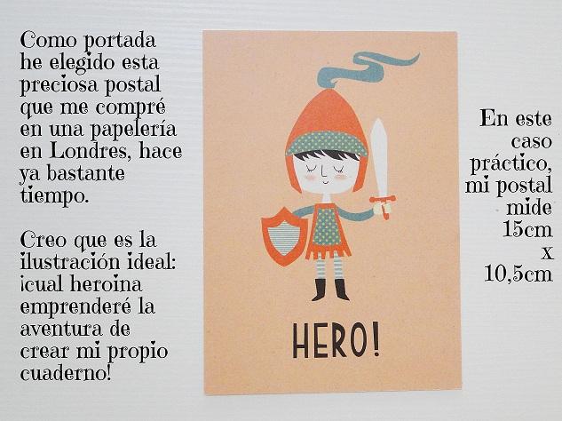 Tutorial Cuaderno personalizado Bienve Prieto Cinderella 2