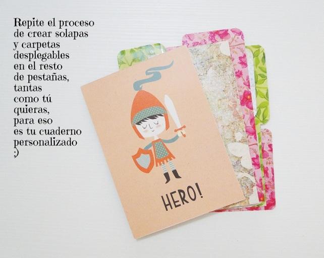 Tutorial Cuaderno personalizado Bienve Prieto Cinderella 29