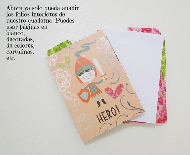 Tutorial Cuaderno personalizado Bienve Prieto Cinderella 35