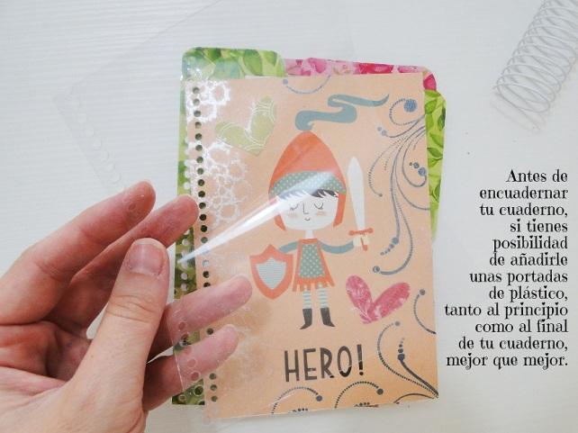 Tutorial Cuaderno personalizado Bienve Prieto Cinderella 36