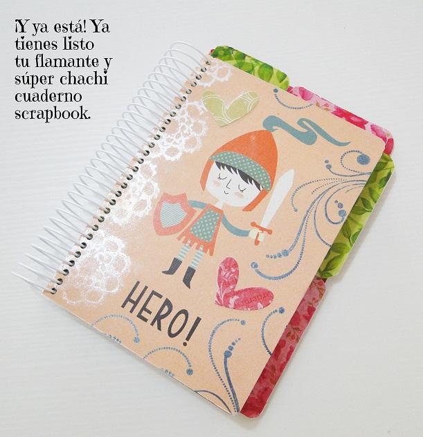 Tutorial Cuaderno personalizado Bienve Prieto Cinderella 37