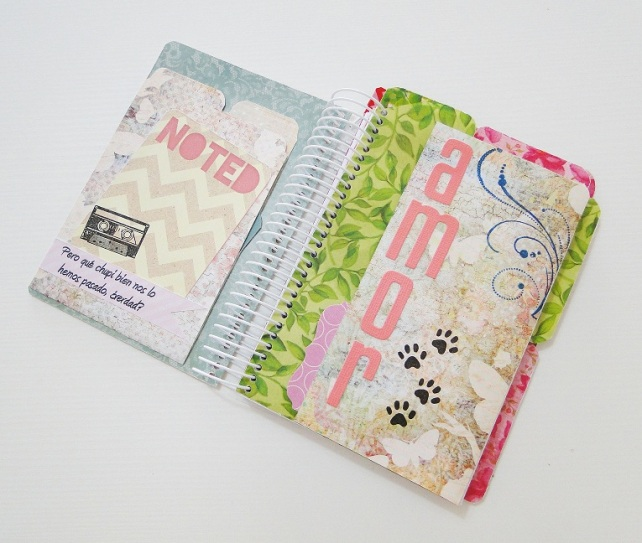 Tutorial Cuaderno personalizado Bienve Prieto Cinderella 38