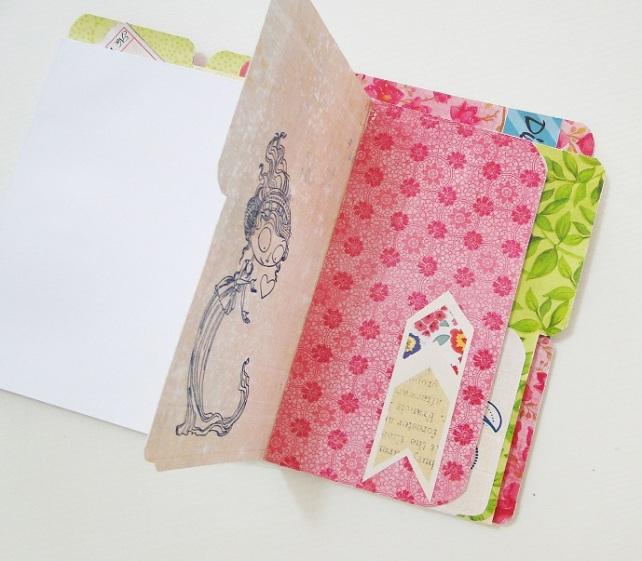 Tutorial Cuaderno personalizado Bienve Prieto Cinderella 44