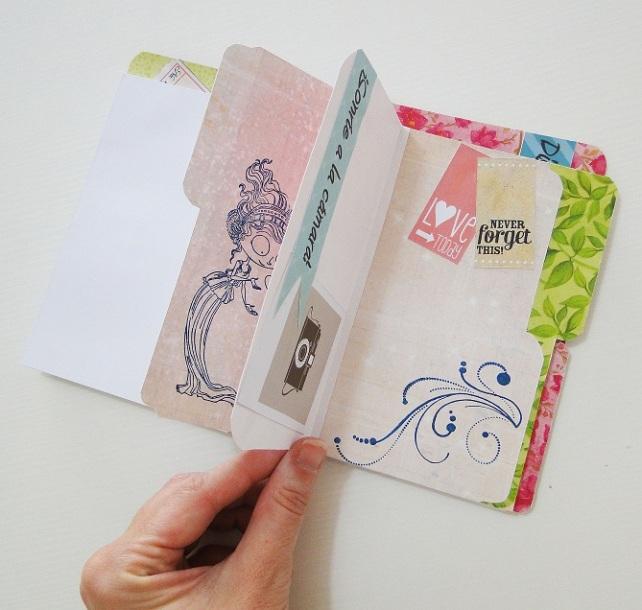 Tutorial Cuaderno personalizado Bienve Prieto Cinderella 45