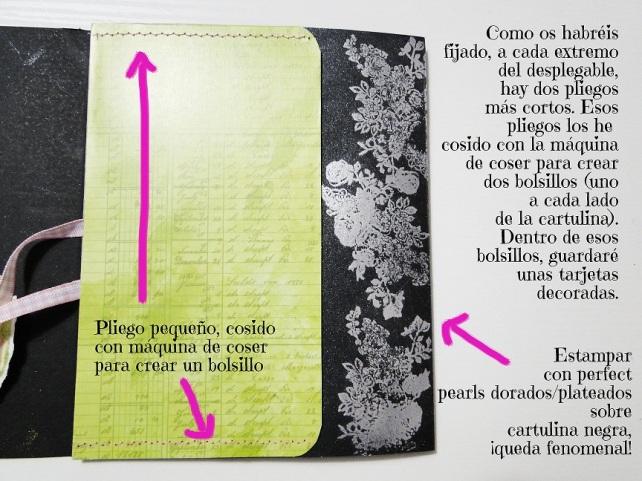 Álbum Tags-Fotos carpeta desplegable Cinderella 10-2