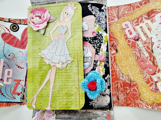 Álbum Tags-Fotos carpeta desplegable Cinderella 15